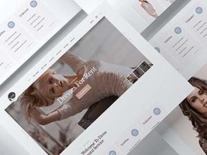 Web Design – Rent Your Dress