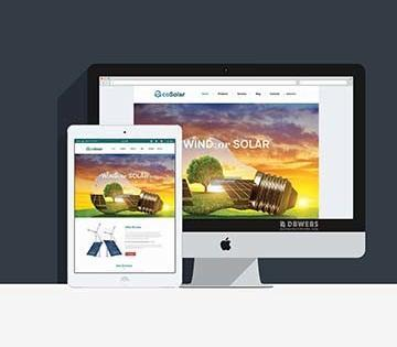 Web Design – EcoSolar